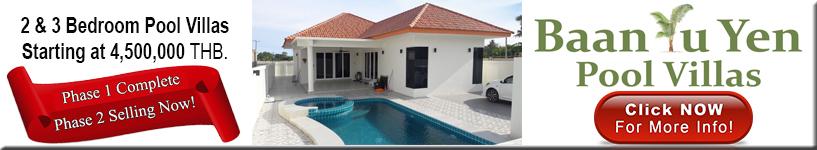 Hua Hin, Pranburi, pool, villas, for, sale