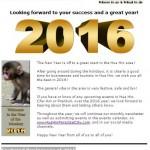 Hua Hin Events e-Letter – January, 2016