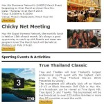 Where to go & What to do in Hua Hin – March 2016 Events