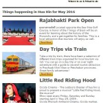 Where to go & What to do in Hua Hin – May 2016 Events